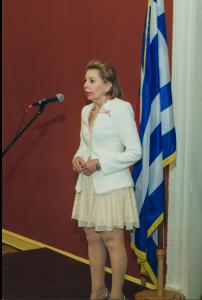 Nacionalinės Graikijos dienos minėjimas Vilniaus rotušėje. Asmeninio archyvo nuotr.
