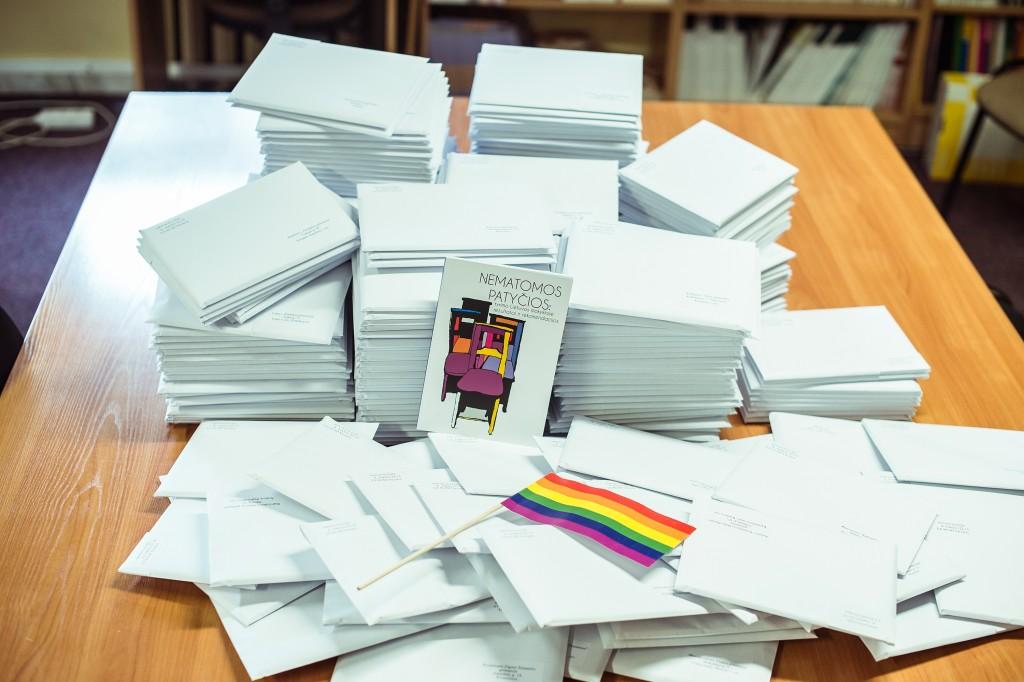 2015 metais LGL išsiuntė leidinį apie homofobines patyčias Lietuvos švietimo ir mokslo įstaigoms.