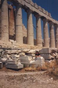 Partenonas Atėnų Akropolyje. Asmeninio archyvo nuotr.