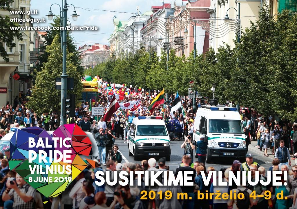 Baltic Pride 2019 atvirute LT