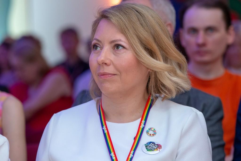 """""""Swedbank"""" Lietuvoje Valdybos pirmininkė ir administracijos vadovė Dovilė Grigienė"""