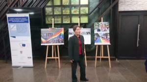 Rūta Ostrovskaja, parodos pristatymas.