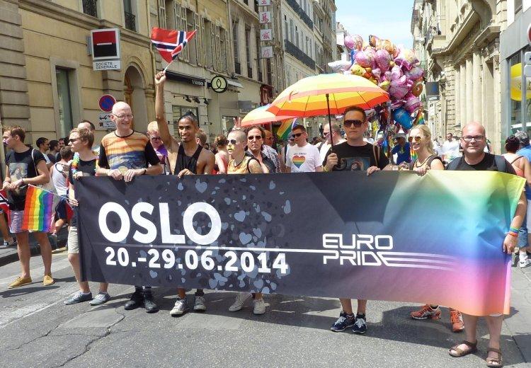 EuroPride 2014 Osle, Norvegijoje