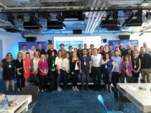 """Europos Komisijos, socialinių tinklapių ir nevyriausybinių organizacijų susitikimas """"Facebook"""" būstinėje Dubline"""