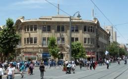 Jerusalem_Zion_Square_Sansur_Building