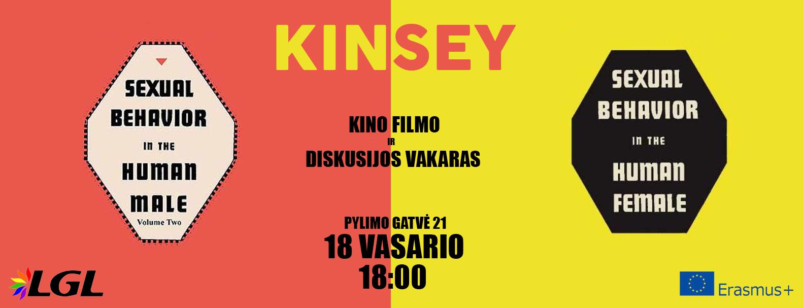 """Filmo """"Kinsey"""" peržiūra ir diskusija"""