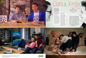 LGBT draugiškos IKEA reklamos