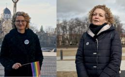 Aušrinė Armonaitė ir Margarita Jankauskaitė