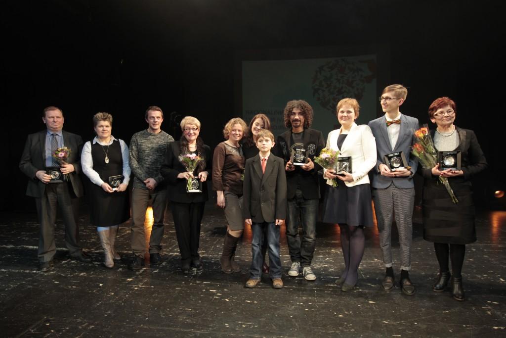Nacionalinių lygybės ir įvairovės apdovanojimų 2013 laureatai