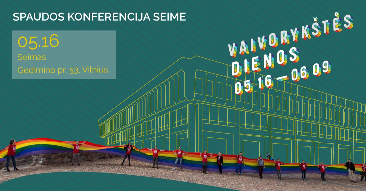 LGBT spaudos konferencija Seime