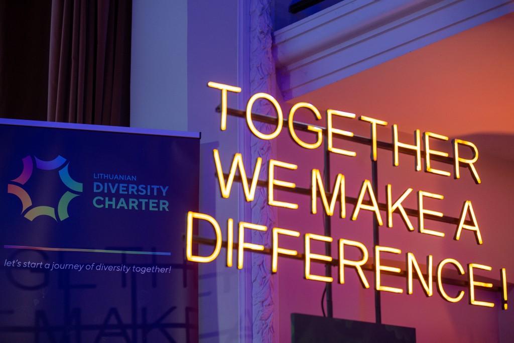 Swedbank ir Įvairovės chartija