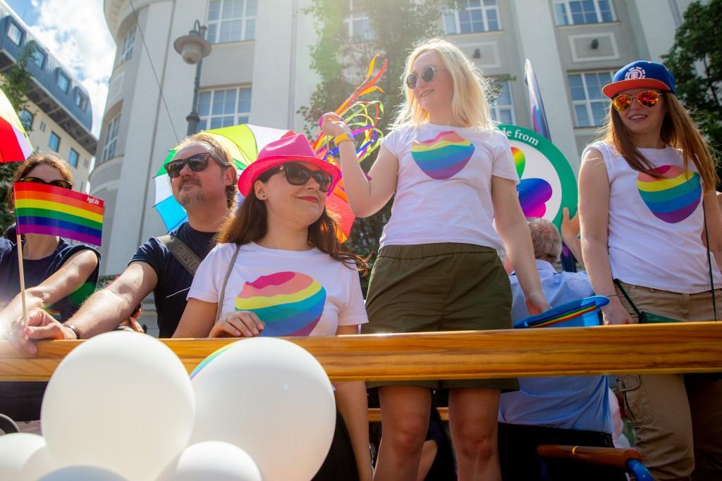 """Telia"" komanda ""Baltic Pride"" 2019 eitynėse"