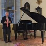 Uzdarymo koncertas. Mark Agrast, USA