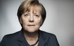 Bundeskanzlerin Angela Merkel am 11.08.2013 in den Räumen der Wahlkampfagentur der CDU in Berlin.