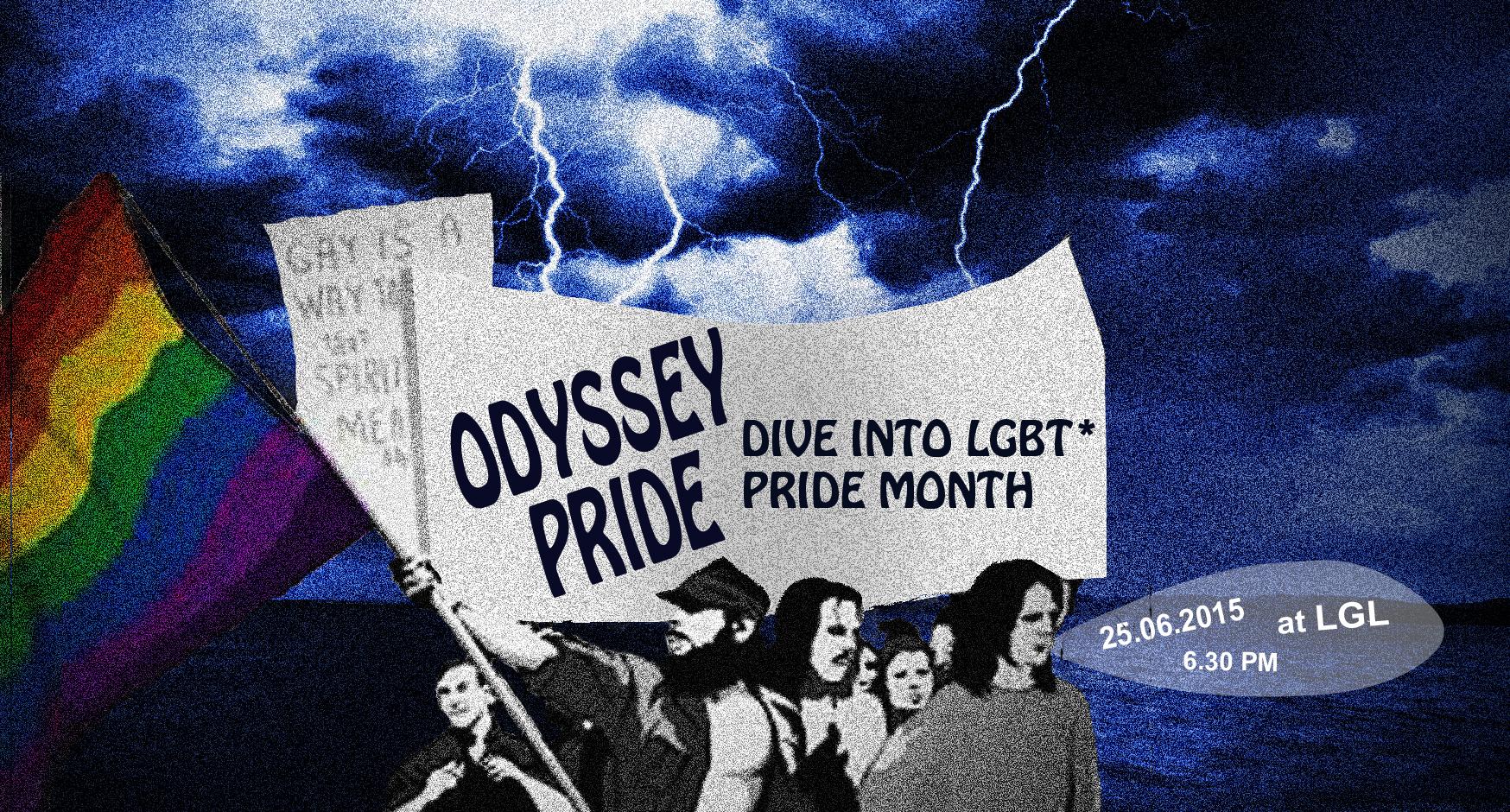 """""""Pride"""" odisėja – pasinerkite į LGBT * pasididžiavimo mėnesį!"""