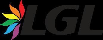 Lietuvos gėjų lyga (LGL) logotipas