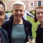 su Irene Fedorovych is Ukrainos ir Justin Bionat is Filipinu