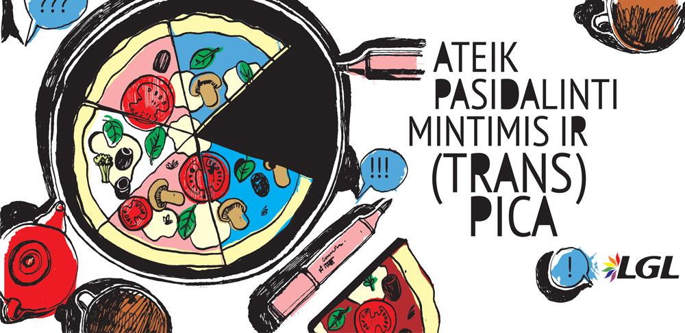 """Renginys translyčiams asmenims """"TRANS* Pizza"""""""