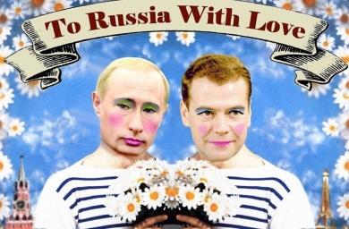 Mitingas prie Rusijos ambasados - už LGBT teises Rusijoje