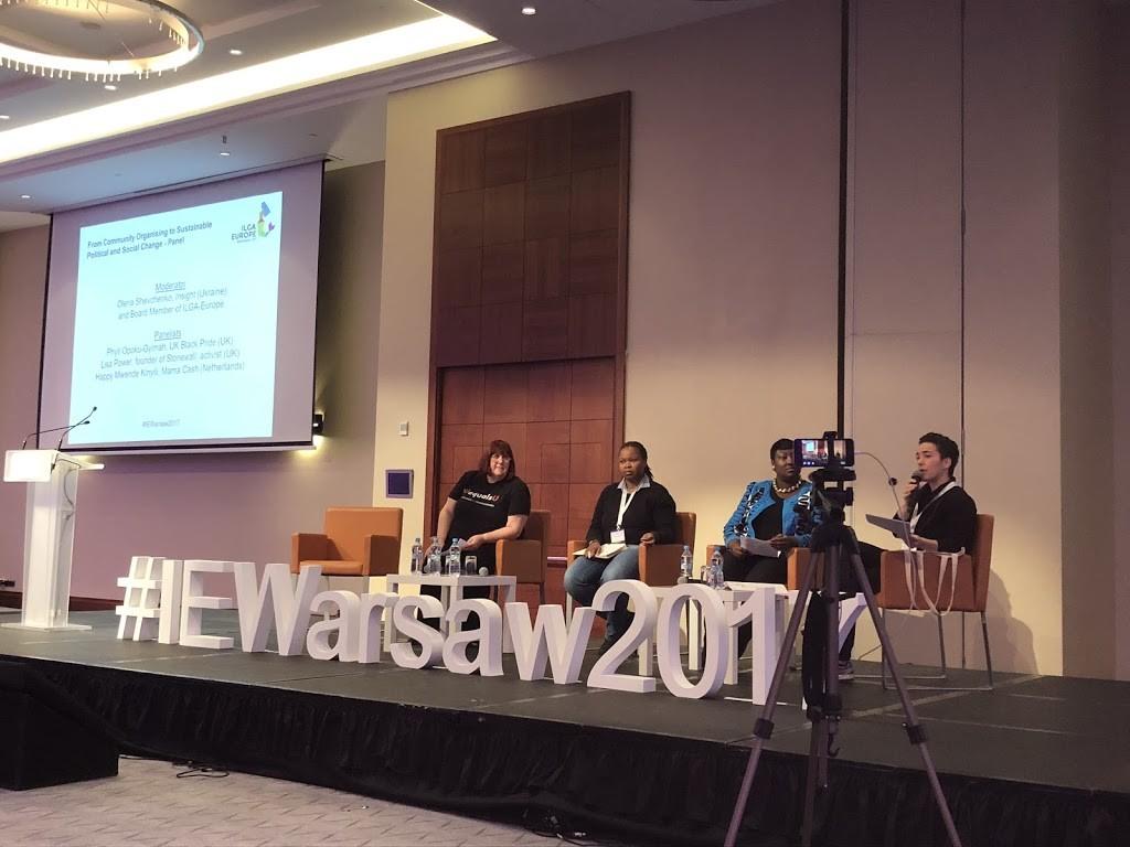 ILGA-Europe Annual Conference panel discussion