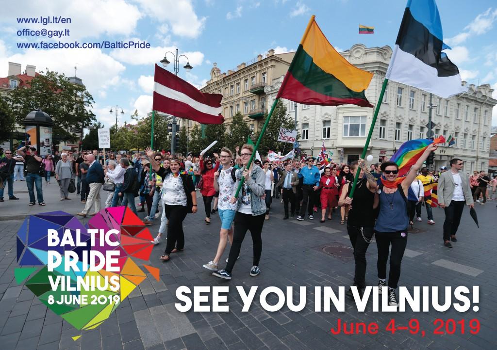 Baltic Pride 2019 atvirute