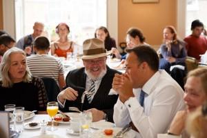 David Norris and Taoiseach Leo Varadkar, James Joyce Centre, Bloomsday 2018