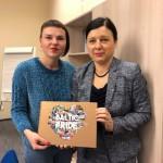 Ne Didžgalvio2. Su Europos Komisijos teisingumo, vartotojų ir lyčių lygybės komisare Věra Jourová