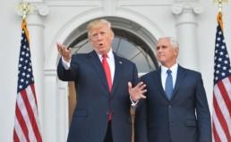 Trump-pence-gesture