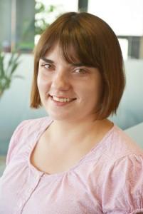 LGL's former EVS volunteer Anna. © Augustas Didžgalvis