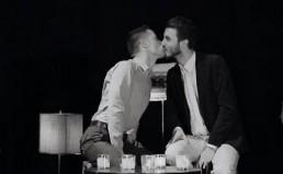 Same-sex kiss