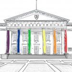 town hall sktch rainbow